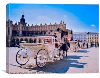 Your Carriage Awaits, Canvas Print