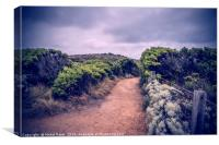 Trail in Port Campbell National Park, Australia, Canvas Print