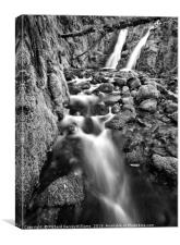 Venford Falls, Canvas Print