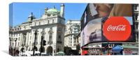 Piccadilly Circus of London, Canvas Print