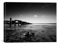 Ramsgate Breakwater, Canvas Print
