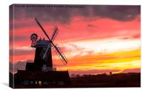 Cley Mill., Canvas Print