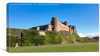 BAMBURGH CASTLE, NORTHUMBERLAND, Canvas Print