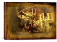 The Carousel, Canvas Print
