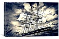 The Cutty Sark, Canvas Print