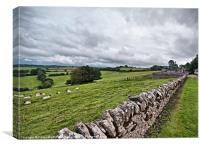 A Wiltshire View, Canvas Print