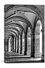 Northumberland Avenue - Arches, Canvas Print
