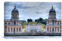 The Queen's House, Greenwich, Canvas Print