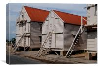 The old sail lofts at Tollesbury, Essex, Canvas Print