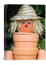 FLOWERPOT MAN, Canvas Print