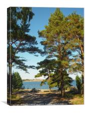 View from Sandhamn, Canvas Print