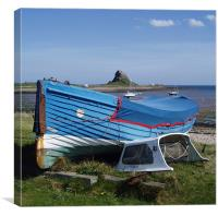 Coast - Euphoria holy island , Canvas Print