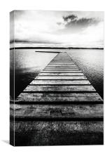 West Kirby Marine Lake, Canvas Print