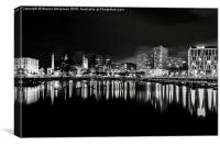 Liverpool skyline, Canvas Print