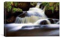 Wyming Brook, Canvas Print
