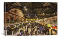 Liverpool Street Station, Canvas Print