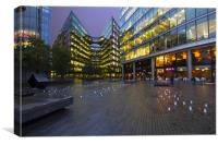 Offices Earnst and Young, Canvas Print