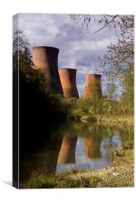 Power Station Ironbridge, Canvas Print