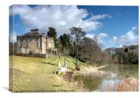 The Haining, Selkirk, Canvas Print