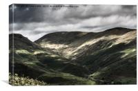 Great Rigg Valley, Grasmere, Lake District, Canvas Print