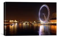 London Eye , Canvas Print