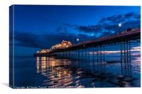 Worthing Pier at Dusk, Canvas Print