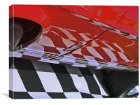 Old Car - GT 500, Canvas Print