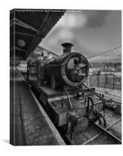 The Great Western Train, Canvas Print