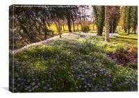 Spring in Leeds Castle, Canvas Print