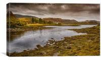 View From Clachan Bridge Scotland, Canvas Print