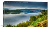 Loch Awe Argyll and Bute, Canvas Print