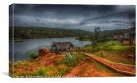 Entabeni Lakeside Lodge, Canvas Print
