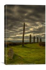 The Ring o' Brodgar, Orkney, Scotland, Canvas Print