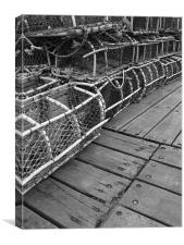 Lobster Traps, Canvas Print