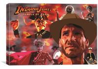 Indiana Jones and the TEMPLE OF DOOM, Canvas Print