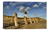 Spurn Coast, Canvas Print