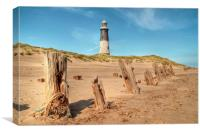 Spurn Point, Canvas Print