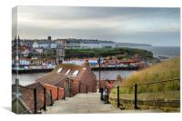 Whitby , Canvas Print