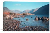 Wast Water on the Rocks, Canvas Print