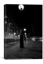 Streets OF Salford Quays, Canvas Print