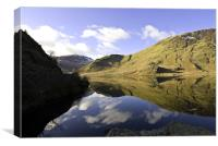 Down Crummock Water, Canvas Print