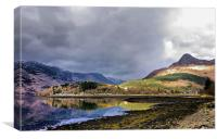 Light on Loch Leven, Canvas Print