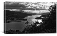 The Queen's View, Loch Tummel, Scotland, Canvas Print
