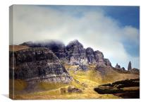Skye, The Storr and The Old Man, Canvas Print