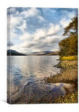 By Loch Arkaig, Canvas Print