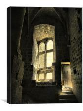 The Castle's Hidden Room, Canvas Print