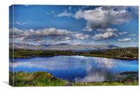 South Harris From the North, Canvas Print