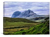 Suilven From Knockan Crag, Canvas Print