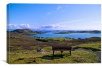 A View of the Summer Isles, Canvas Print