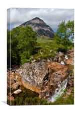 The Buachaille in Summer, Canvas Print